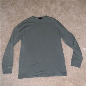 Over size long sleeve